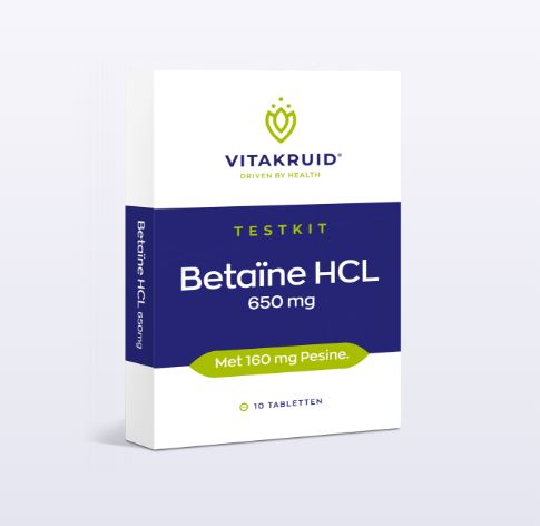 Betaïne HCL Testkit